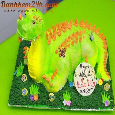Mẫu bánh sinh nhật tam kỳ dễ thương