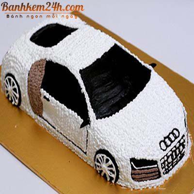 Mẫu bánh kem sóc trăng hình xe hơi
